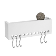 So-Hooked Wall Rack 30 - hvid