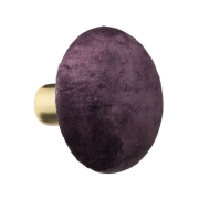 Knage i Grape velour - medium